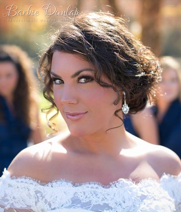 Barbies Wedding Hair And Makeup : Bridal Makeup for South Carolina - Barbie Dunlap
