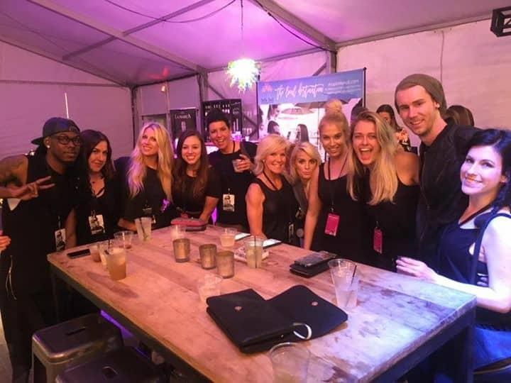 Team ABP at Charleston Fashion Week 2016