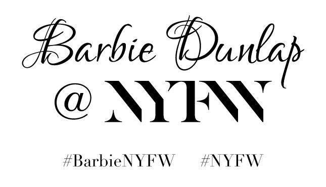 #BarbieNYFW #NYFW